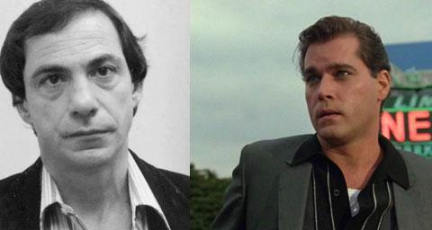 Слева: реальный прототип Генри Хилл, справа: Рэй Лиотта, сыгравший его в фильме