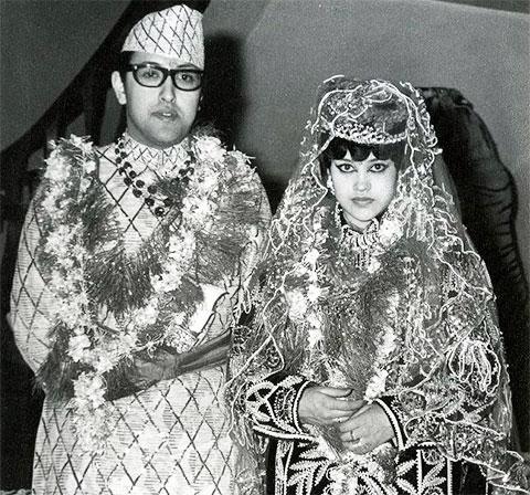 Король Бирендра и королева Айшварья
