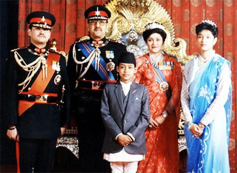 Убийство королевской семьи в Непале