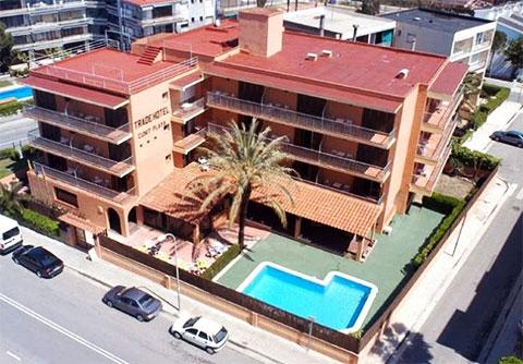 Гостиница Trade Hotel Cunit Playa