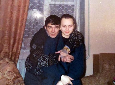 Слева: вор в законе Олег Лазарев - Лазаренок