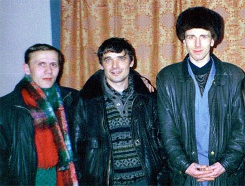 В центре: вор в законе Олег Лазарев - Лазаренок