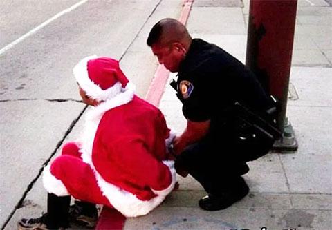 Задержание Санта-Клауса
