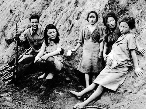 Секс рабыни Японской армии