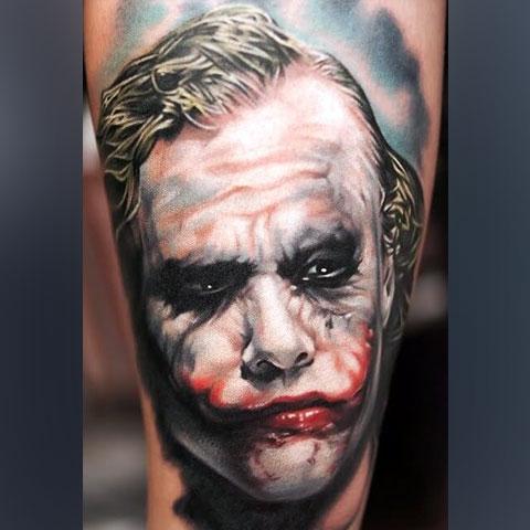 Татуировка Джокер - фото