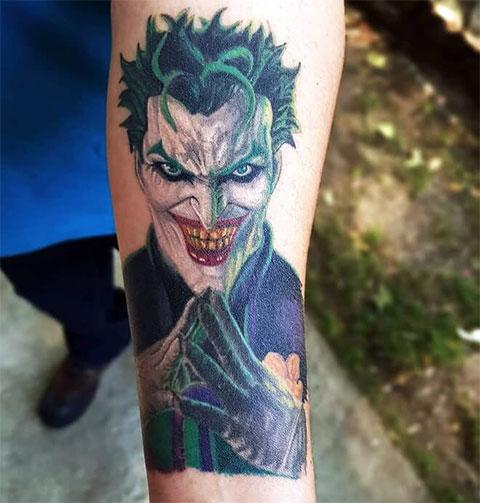 Тату Джокер на руке