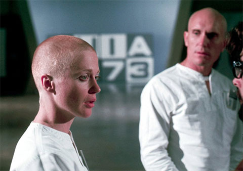 Кадр из фильма «THX 1138»