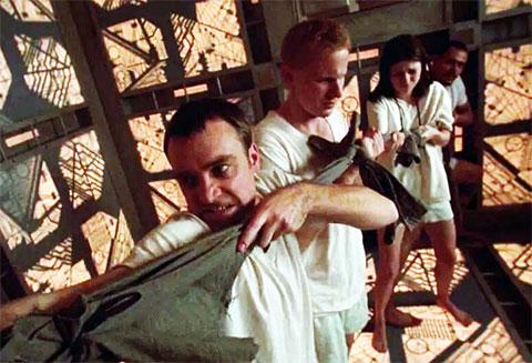 Кадр из фильма «Куб»