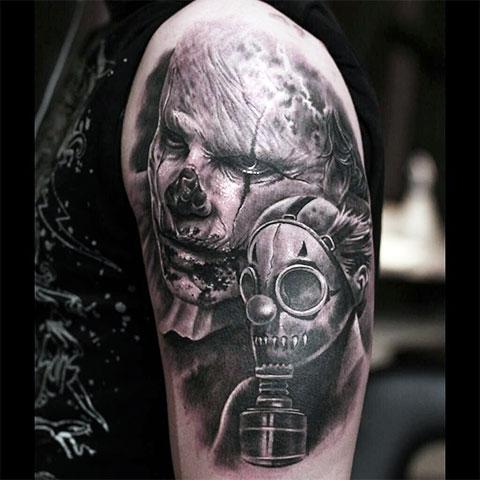 Татуировка зомби апокалипсис