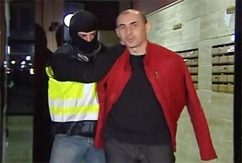 Вор в законе Звиад Дарсадзе - арест