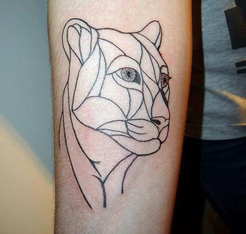 Татуировка пумы