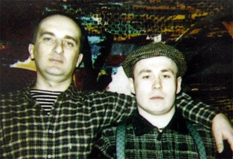 Слева воры в законе: Давид Чхиквишвили (Дато Сургутский) и Александр Бабанов (Бабан)