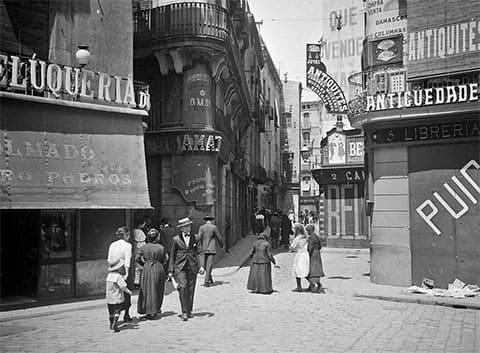 Барселона в 1890-х годах