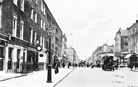 Бейкер стрит в 19 веке
