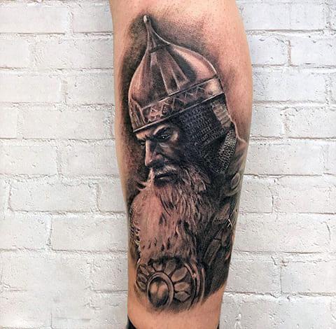 Татуировка богатыря