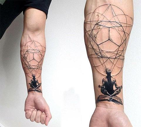 Татуировка буддизм