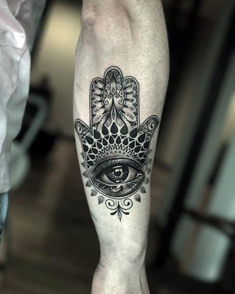 Рука Фатимы татуировка