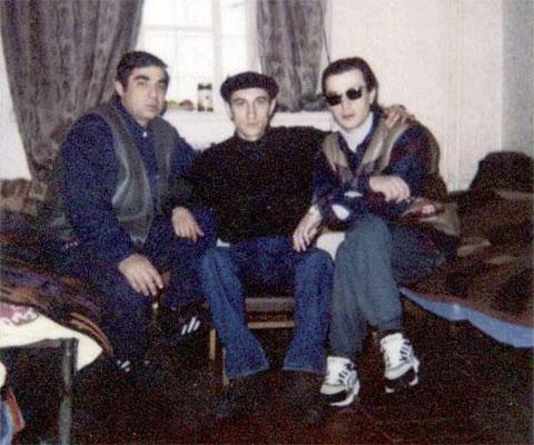 Слева воры в законе: Рауль Кирия (Рауль Руставский), Коба Шемазашвили (Коба Руставский) и Тенгиз Луарсабишвили (Тенго Руставский)