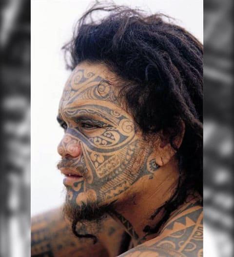Племенные татуировки - фото