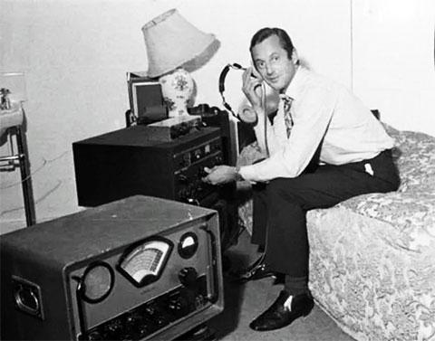 Роберт Роулендс - радиолюбитель, запеленговавший грабителей