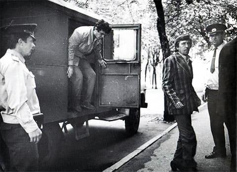 Машина вытрезвителя в СССР