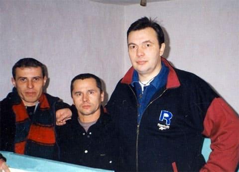 Слева: Сергей Васин (Вятлаг), Василий Кабердин (Кот) и Вячеслав Шестаков (Слива)