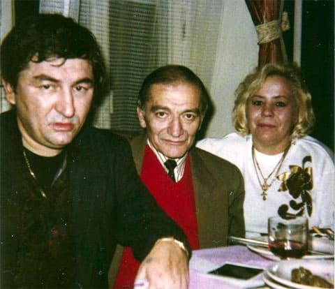 Слева воры в законе: Датико Цихелашвили (Дато Ташкентский) и Эльбрус Гогичаев (Абуз)