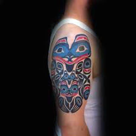 Татуировка в стиле хайда