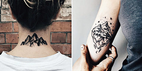 Татуировки гор