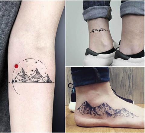 Татуировки горы