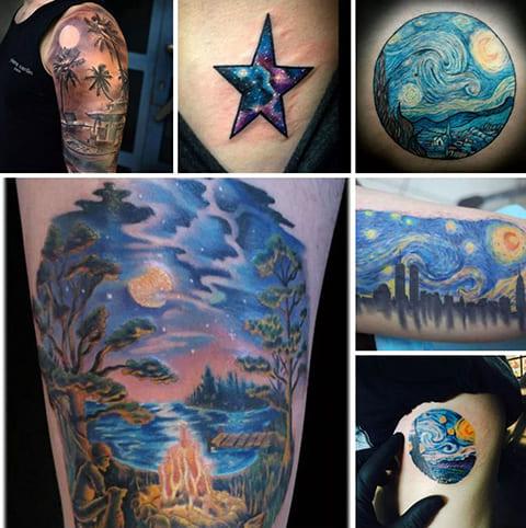 Татуировки неба