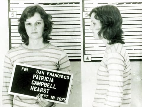 Патрисия Херст после ареста