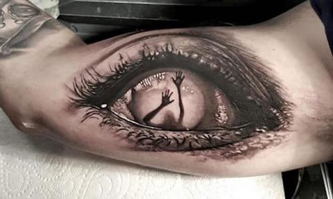 Татуировка в стиле реализм - фото