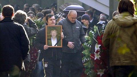 Похороны Вячеслава Иванькова - Япончика