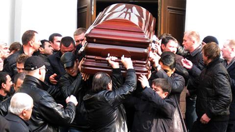 Все про похороны Япончика