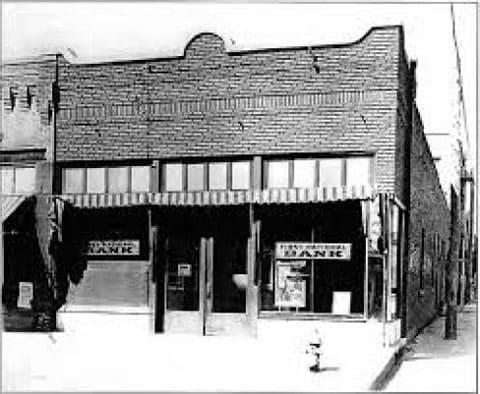 Первый национальный банк в техасском городке Циско
