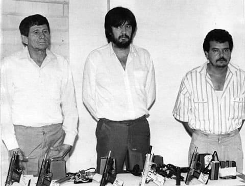 Боссы наркомафии, в центре: Амадо Фуэнтес