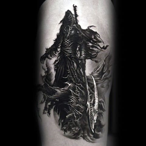Татуировка готика