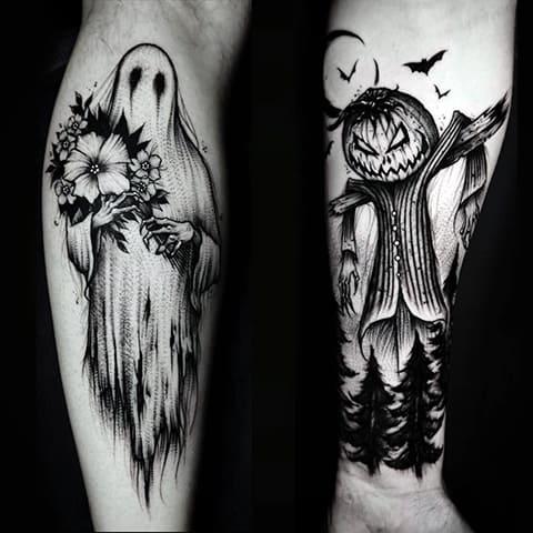 Татуировки готика