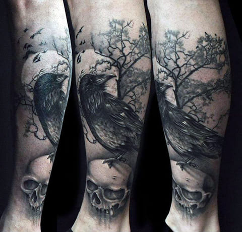 Готическая тату