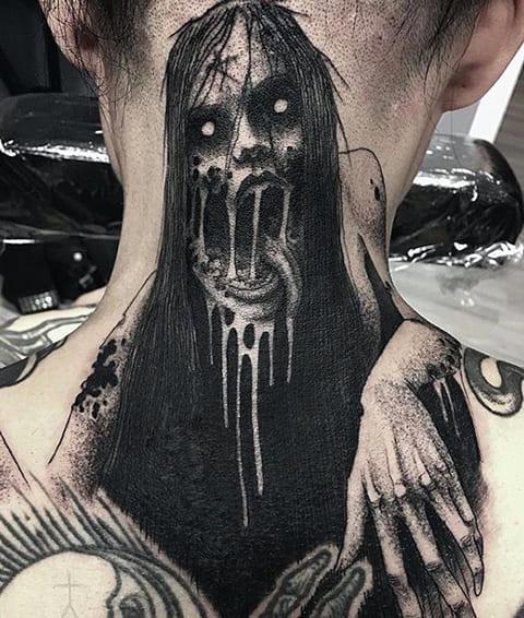 Готическая татуировка