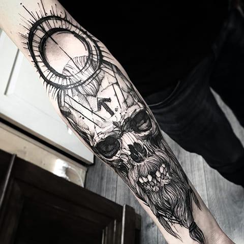 Татуировка готика - фото