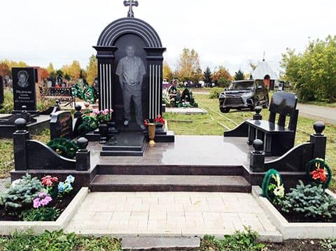 Могила вора в законе Сергея Клементьева - Клима
