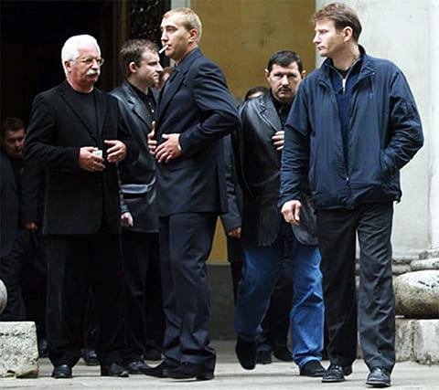 Похороны Кости Могилы