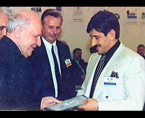 Справа: Константин Яковлев - Костя Могила