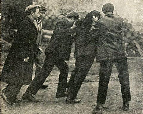 Задержание хулиганов в Ленинграде