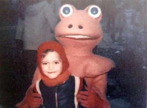 Фредерик Бурден в детстве