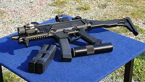 Пистолет-пулемёт «Скорпион» evo3