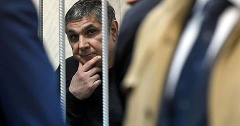 Захарий Калашов (Шакро Молодой) в Никулинском суде, Москва, 14.03.2017