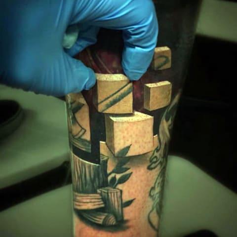 3Д татуировка